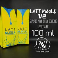 Liquid Latt Mjolk V2 Banana 100ml