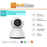 Kamera Camera CCTV BARDI Smart Indoor PTZ IP Camera Wireless ipcam