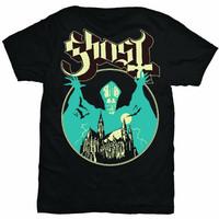 GHOST Opus Kaos Band Heavy Doom Metal Hard Rock Licensed Original - S