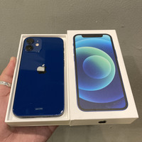 iPhone 12 Mini 64GB Blue Resmi Indonesia Like New Itungan Hari