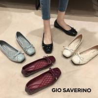 Flat shoes wanita Gio Saverino Moscow gucci ballerina tipe terbaru