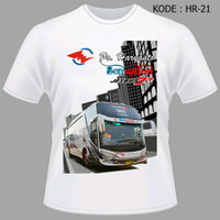 Kaos Bus Haryanto Jetbus Sensation - Kaos Baju Bis