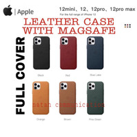CASE LEATHER IPHONE 12 PRO MAX 12 PRO WITH MAGSAFE CASE IPHONE 12 PRO