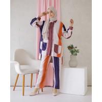 Set Piyama Wanita Lengan Panjang Motif Baju Tidur Katun Rayon Fit ToXL