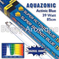 (DISTRIBUTOR) LAMPU AQUAZONIC T5 ACTINIC BLUE 39 WATT 90 CM (GROSIR)