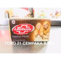 Lifebuoy Sabun Batang Wangi Kasturi Musk 1 PCS   Sabun Lifebouy Murah