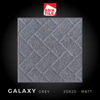 Asia Tile - GALAXY GREY - 20x20cm - Matt - FREE DELIVERY