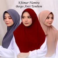 Hijab Jilbab Kerudung Instan Bergo Namira Jersey Daily Pet Antem Murah