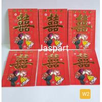 Amplop / Angpao Wedding Pernikahan / Sangjit / Xuang Xi - w2