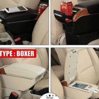 Consol Box Mobil Honda MOBILIO Arm Rest With USB Carger