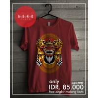 Kaos Cotton Combed Barong Bali