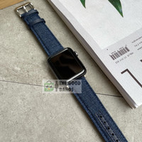 Strap Apple Watch Series SE 6 5 4 3 2 1 JEANS BLUE Tali band 42mm 44mm