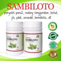 Kapsul Sambiloto 99 Herbal Original Penyakit Paru Radang Batuk Amandel
