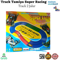 Track Tamiya Super Racing Track - Jalanan Tamiya - Track 2 Jalur