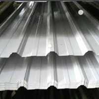 Spandek atap genteng galvalum 0.35mm x 6m
