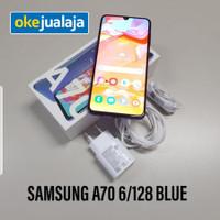 Samsung A70 6/128 Blue, second,Grade D,Ex Display,baret