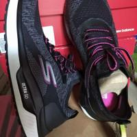 sepatu skechers running wanita Go run 16025 BKHP Original