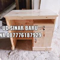 meja kantor mini / meja belajar mini / meja kerja kayu jati belanda
