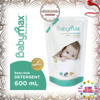 Babymax Detergent Refill 600ml Sabun Cuci Baby Max Kemasan Steril