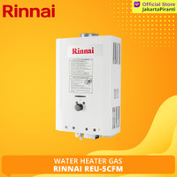 Water Heater Gas Rinnai Tekanan Rendah Low Pressure REU-5CFM