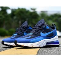 Sepatu Sneakers Nike Air Max 270 React AO4971-400 Blue Original 100%