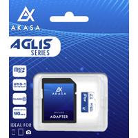 Akasa Micro SD 128 GB Aglis Series U3 Memory Card (Hyper Speed)