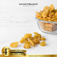 NATURE'S MARKET GOLDEN RAISIN 500GR