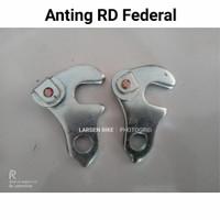 Adaptor RD Anting Gantungan federal Minion Lipat Jadul Vintage