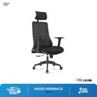 Kursi Kantor, kursi kerja Hadid Highback Chair Officescale