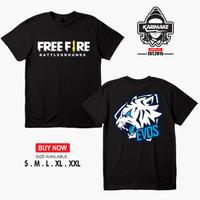 Kaos Baju Game Free Fire Battleground Evos E Sport Kaos Game - Karimak
