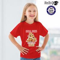 Baju Kaos Warna Anak Laki-laki / Perempuan Design Imlek Umum