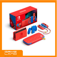 Nintendo Switch Generation 2 Mario Red And Blue Edition Console HAC V2