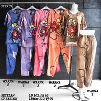 Setelan Kulot Baby Doll Daster Baju Pakaian Tidur Batik Pekalongan 9