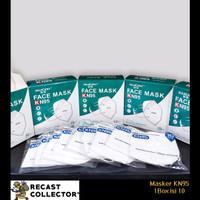 Masker KN95 1 Box isi 10 pcs dengan kemasan