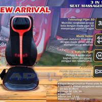 Kursi Pijat Pro 3in1 Otto Klasse Massage Cushion 3D Shiatsu