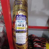 ban mizzle mrx ring 14 90/80 soft compound balap tubeless