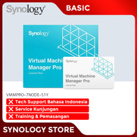 Synology VMMPRO-7NODE-S1Y Virtual Machine Manager Pro License Pack
