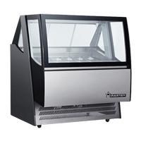 Ice Cream Display Freezer WIRASTAR ARD-600L Gelato Cooler Pemajang