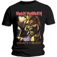 Kaos Band Original IRON MAIDEN Gildan Softstyle Hitam Legacy Killers - S