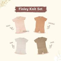 Little Bubba Finley Knit Short Sets Baju Setelan Anak Kecil Bayi Lucu