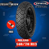 Ban Belakang Motor NMAX // ZENEOS ZN87 MILANO 140/70 Ring 13 Tubeless