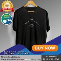 Baju Kaos Tshirt Superhero Super Hero Dewasa Premium DC Logo Batman 03 - Merah, M