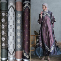 bahan dior silk/motif raflesia looklike wearingklamby