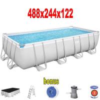 kolam renang swimming above ground pool plastik besar dewasa anak big