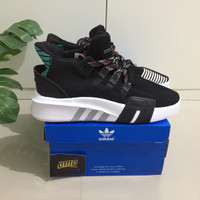 Sepatu Adidas EQT Bask ADV Black Green - Premium Original