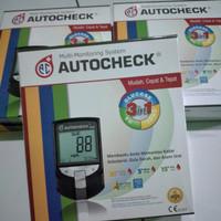 alat cek gula darah asam urat colestrol Auto check