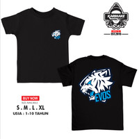 Kaos Baju Anak E Sports Evos Logo Mobile Legends Dota AOV - Karimake