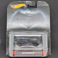 Hot Wheels Retro Batman V Superman Batmobile Hotwheels Ban Karet