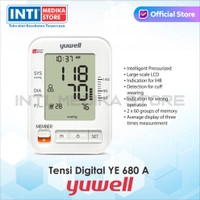 YUWELL - Tensimeter Digital Voice Dual-User + Adaptor YE680A