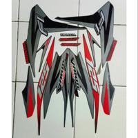 POLET Stiker striping honda vario techno 125 2013 hitam